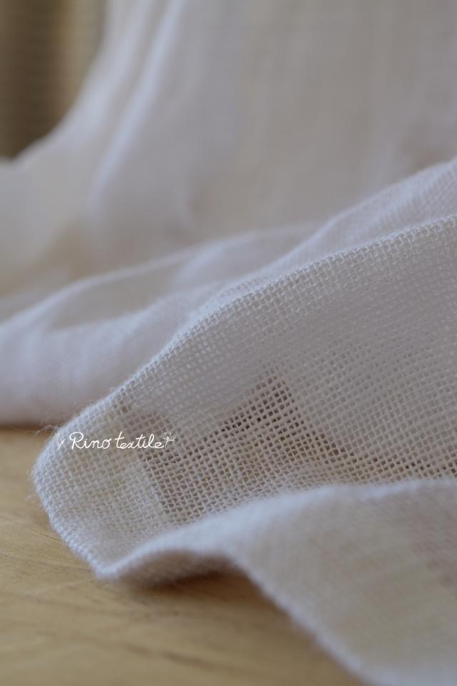 リネンカーテン裾