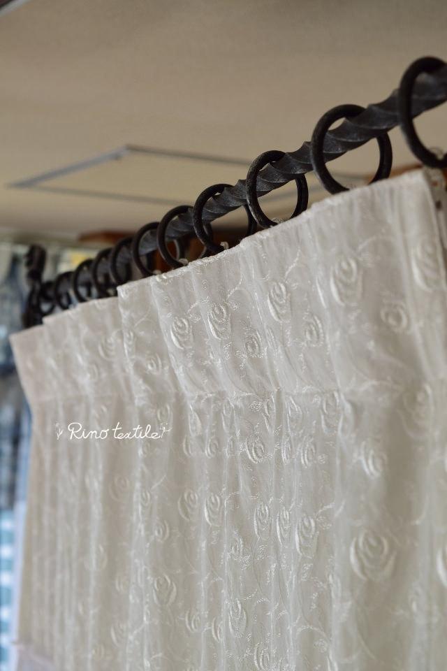 アンティークレースカーテン