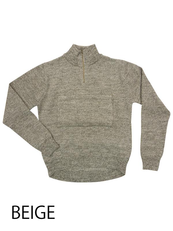 No.2088 英国産ブリティッシュウール プルオーバーセーター リンプロジェクト 日本製造 胸ポケットつき