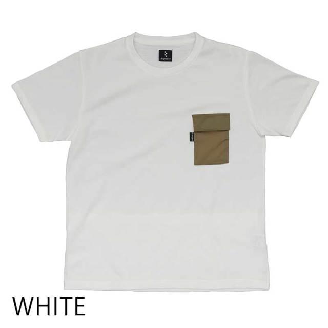 【ミリタリーT】4ポケット Tシャツ ポケT 胸ポケット 背ポケット 綿 ポリエステル 吸汗速乾 日本製 No.2166