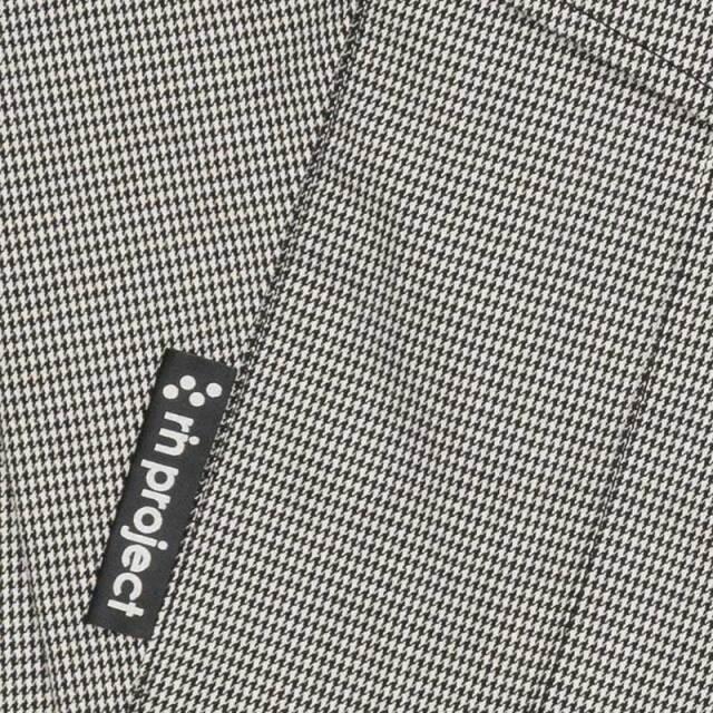 【ストレッチサイクルショートパンツ千鳥】 7分丈 サドルパッチ チドリ柄 日本製 No.3007 【送料無料】