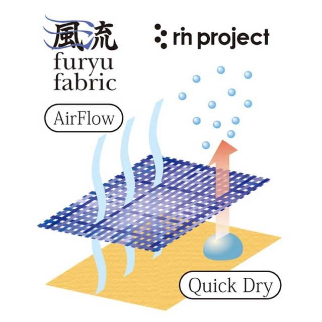 【Furyuショートパンツ】 2020年モデル furyu fabric 通気速乾ストレッチ 七分丈 サドルパッチ No.3171【送料無料】