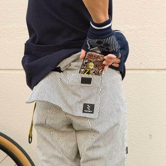 【カーペンターズパンツ】7分丈 吊下げ式バックポケット ヒッコリーストレッチ 日本製 No.3178【送料無料】