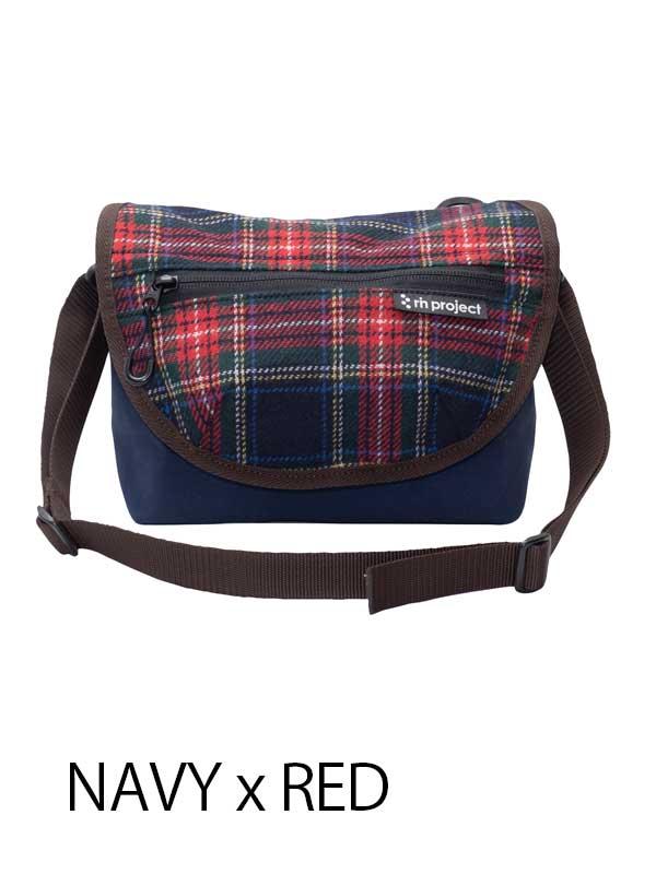 【3wayハンドルバッグ ツィード】 リンプロジェクト ハンドル装着 ミニメッセンジャー ウエストバッグ No.5080