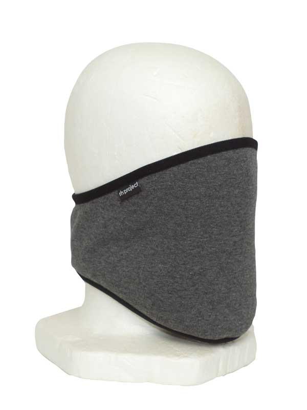 【ネックウォーマー】 裏面ファー素材 ヘルメットをしていてもベルクロで簡単着脱 2wayヒート素材