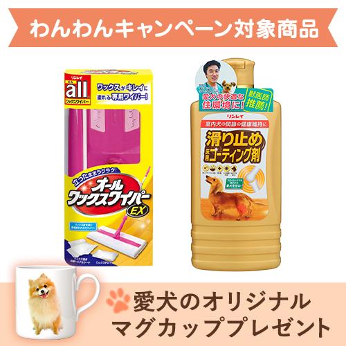 簡単!滑り止め床用コーティング剤セット【立ったままワイパー派】