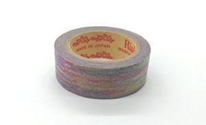 彩り(くれよんレインボー)サイズ:幅15mm 長さ7m