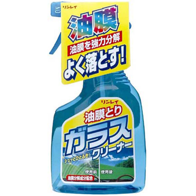 リンレイ 油膜とりガラスクリーナー 400mL | 油まく、ゆまく、ユマク