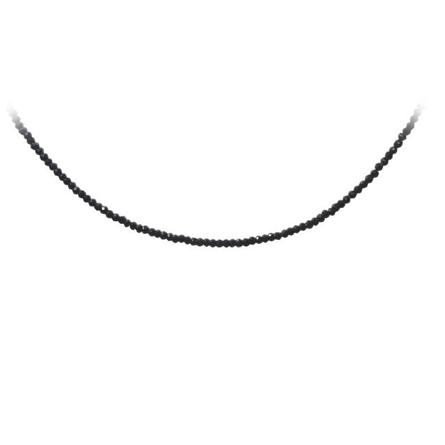 ブラックスピネル ネックレス SV925