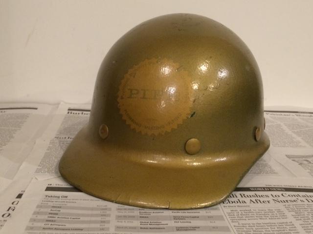Vintage helmet ヴィンテージ ヘルメット 配管工