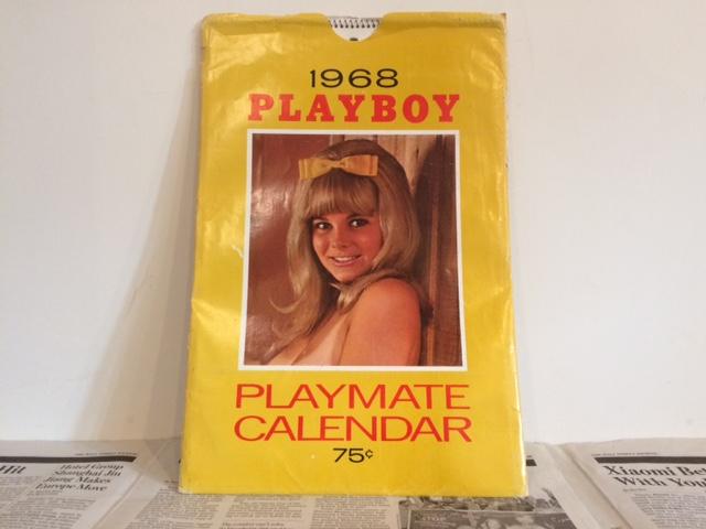1968's PLAYBOY Calendar プレイボーイカレンダー