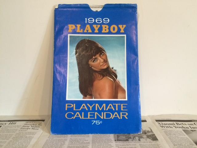1969's PLAYBOY Calendar プレイボーイカレンダー