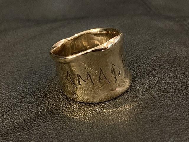 K5 DESIGN RING SHINY 5金デザインリング シャイニー