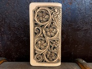 Carving Long Wallet カービングロングウォレット