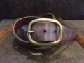 Bridle Leather Belt ブライドルレザーベルトパープル