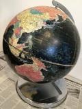 50's REPLOGLE 黒地球儀