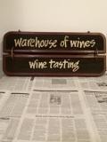 50's Wine Tasting木製看板