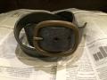 Bridle Leather Belt ブライドルレザーベルトブラック