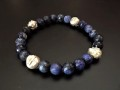 LEAF BEADS BRACELET SODALITE リーフビーズブレスレット ソーダライト