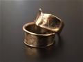 K5 DESIGN RING MATTE 5金デザインリング マット