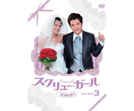 スクリュー・ガール 一発逆転婚DVD-BOX3