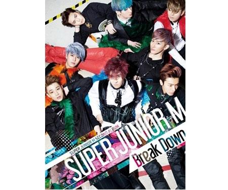 台湾盤 SUPER JUNIOR-M 2ndアルバム Break Down [CD]