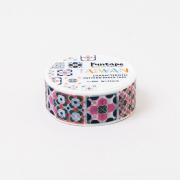 台湾雑貨 マスキングテープ マジョリカタイル