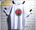 【M-JO】 MUA Tシャツ (白・Sサイズ)