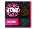 【STAGE】 LEO PIN SET 3個入り (ピンク)