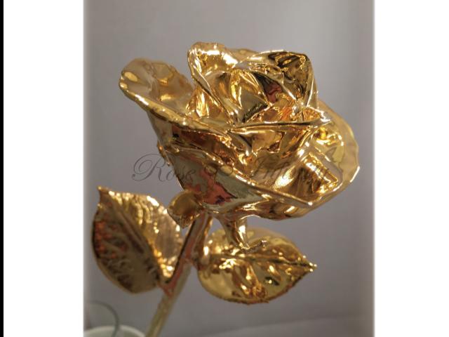 高級・特別なバラ フラワーギフト専門店 フラワーショップリズカ 24Kゴールドローズ