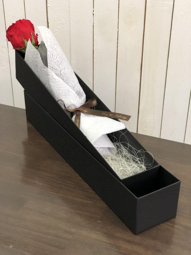 池袋 プリザーブドフラワー専門店 フラワーショップリズカ ダイヤモンドローズプリザーブドフラワー 赤バラレッド