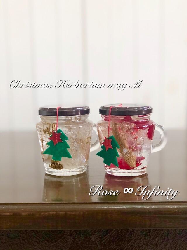 池袋 プリザーブドフラワー専門店 フラワーショップリズカ クリスマス 限定 マグカップ ハーバリウム 店舗