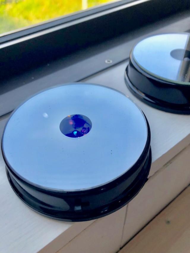 池袋 プリザーブドフラワー専門店 フラワーショップリズカオリジナルハーバリウムLEDコースター