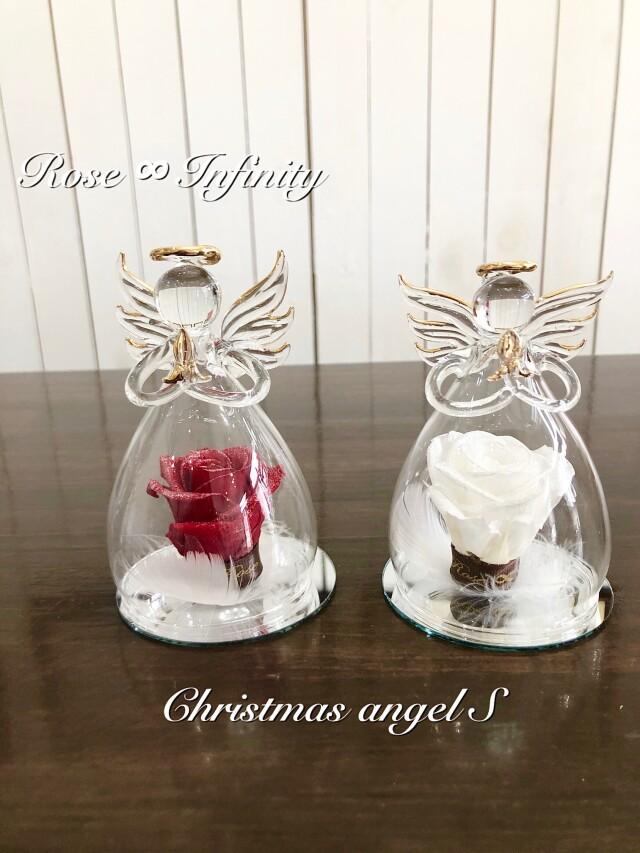 クリスマス,プリザーブドフラワー,クリスマス限定,専門店,店舗,販売,天使,エンジェル,天使の羽