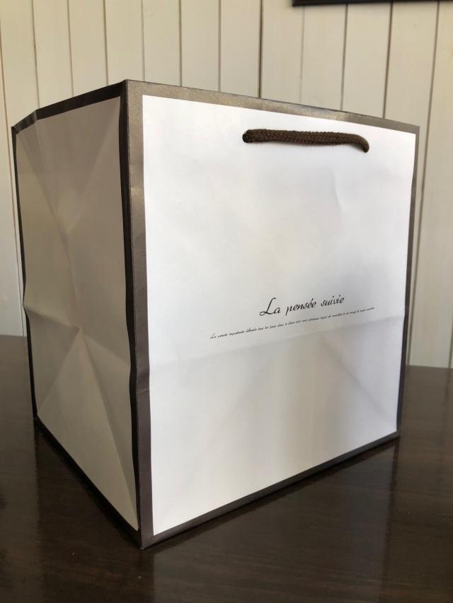 池袋プリザーブドフラワー専門店フラワーショップリズカオリジナルラッピング紙袋