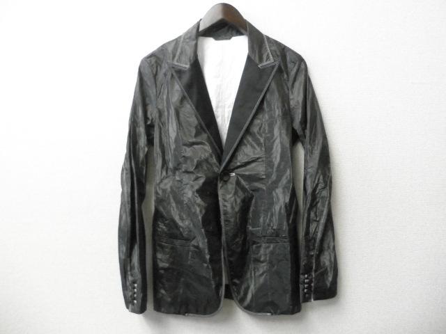 DIESEL BLACK GOLD(ディーゼル ブラック ゴールド) テーラードジャケット (ブラック)正規品