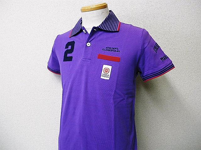 『特別価格』 FRANKLIN&MARSHALL(フランクリンマーシャル) ポロシャツ (パープル) S/M/L