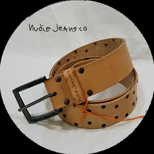 Nudie jeans(ヌーディージーンズ) レザーベルト 通販 愛知県 豊橋市 モーダリジオ リスプ(RLISP)