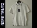 『特別価格』 ARMANI JEANS(アルマーニジーンズ) 鹿の子半袖ポロシャツ(ホワイト) S/M/L