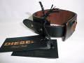 DIESEL BLACK GOLD(ディーゼル ブラック ゴールド) レザーブレスレット/バングル(ダークブラウン)正規品00C9MV