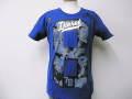 『特別価格』 DIESEL(ディーゼル) デザインプリント半袖TシャツSYRIAN(ブルー) S/M/L 正規品
