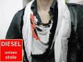 DIESEL(ディーゼル) フリンジデザインストール/正規品/男女兼用