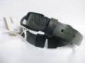 『特別価格』 DIESEL(ディーゼル) ブレイブマン型押しバックスリットレザーベルト(Dブラウン) 00CL3R正規品 85/90/95