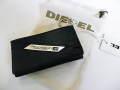 『特別価格』 DIESEL(ディーゼル) メタルロゴプレートレザーキーケース(ブラック) X00445 正規品