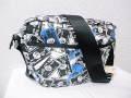 『特別価格』 DIESEL(ディーゼル) ブレイブマンカードデザインショルダーバッグ正規品00XT42 PR003