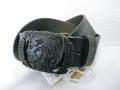 『特別価格』 DIESEL(ディーゼル) ブレイブマンバックルヴィンテージカモフラレザーベルト(ブラウン)正規品00CQUL 00TZN SP001 85/90