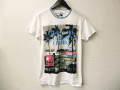 『特別価格』 DIESEL (ディーゼル) プリント半袖Tシャツ (ホワイト) S/M