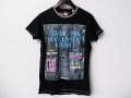 『特別価格』 DIESEL (ディーゼル) プリント半袖Tシャツ (ブラック) S/M