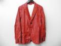 DIESEL BLACK GOLD(ディーゼル ブラック ゴールド) テーラードジャケット (レッド)正規品