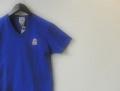 『特別価格』 FRANKLIN&MARSHALL(フランクリン&マーシャル) ワンポイントVネック半袖Tシャツ (ブルー) S/M 正規品